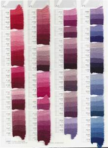 Dmc Tapestry Wool Color Chart Scan Pg 1