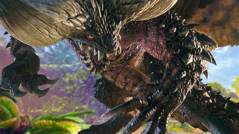 minutes  fighting monster hunter worlds nergigante