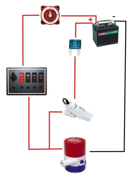 New Wire Marine Automatic Bilge Pump Switch Should
