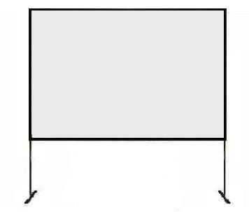 ecran cadre de projection ecran de projection manuel sur cadre d 233 montable es de 390 x 290 cm frontale pas cher en vente