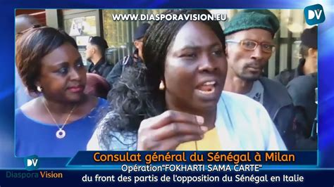Consulat Senegal Carte D Identité Rdv by Italie Des S 233 N 233 Galais Assi 232 Gent Le Consulat G 233 N 233 Ral Du