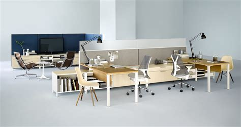 herman miller bureau herman miller office furniture solutions for an open plan