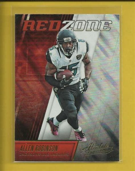 Allen Robinson 2016 Panini Absolute Red Zone Card # 4 ...