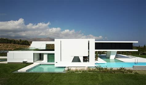 Modern Houses : Impressive Ultra Modern House In Athens
