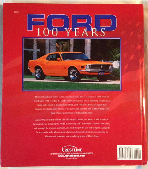 books about cars and how they work 2003 hyundai elantra spare parts catalogs ford 100 years america s original car company mike mueller hardcover book 2003 760315809 ebay