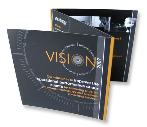 Accordion Style Brochure Systems Vision 2007 Brochure An Accordion Style