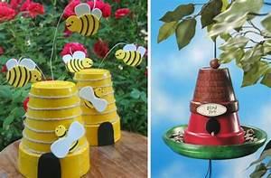 Bienenhaus Selber Bauen : gartendeko aus tont pfen selber machen 31 tolle ideen ~ Lizthompson.info Haus und Dekorationen