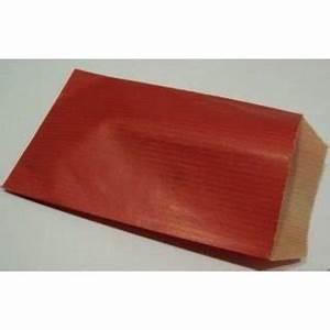 Pochette Cadeau Papier : pochettes papier cadeau rouge ~ Teatrodelosmanantiales.com Idées de Décoration