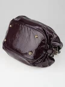 louis vuitton limited edition bordeaux patent leather