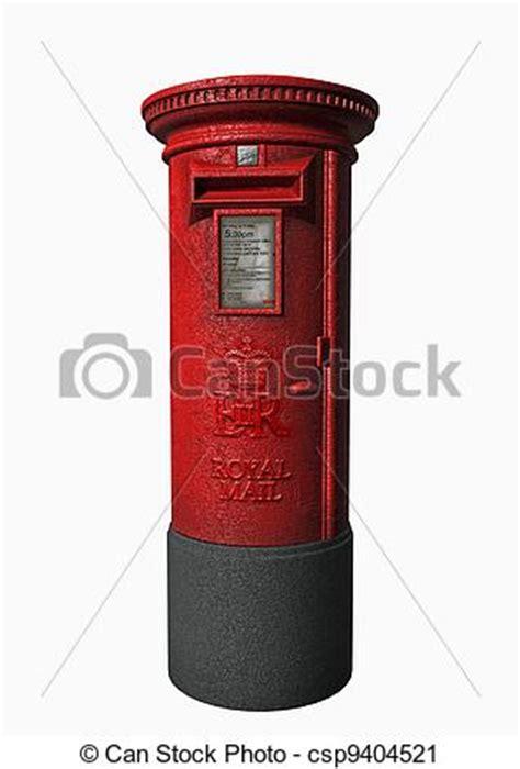 clipart  royal mail  london letter box   clipart