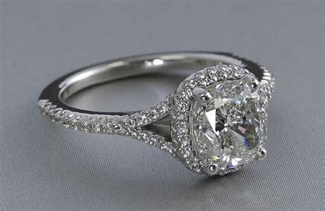 5 popular cushion cut engagement rings ritani