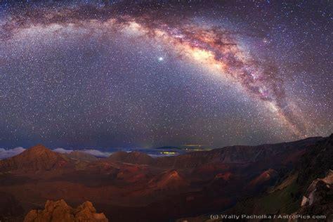 Apod January The Milky Way Over Mauna Kea