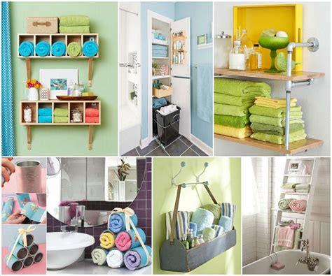 26 Elegant Bathroom Storage Ideas For Towels  Eyagcicom