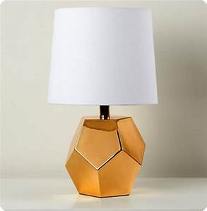 DIY Geometric Faceted Lamp Base
