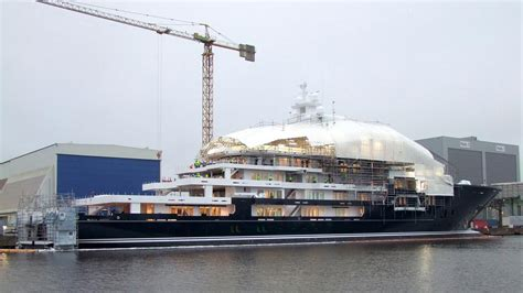 Ulysses Yacht Boat International by 116m Explorer Yacht Ulysses Nearing Completion Boat