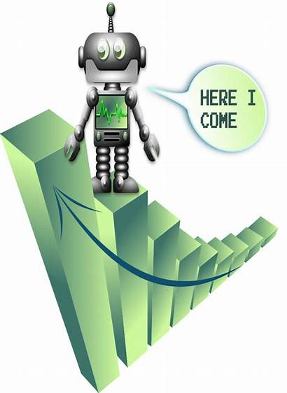 Svg Robot Growth Clip Professional Creative Chat