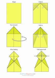 Paper Airplane Instructions U2019 Canard Kidspressmagazinecom