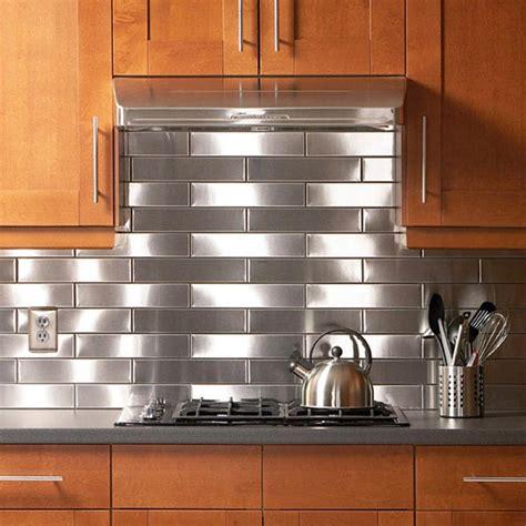 stainless steel solution   kitchen backsplash