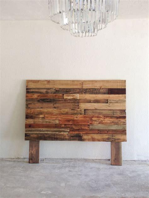 reclaimed wood headboard king queen full twin double