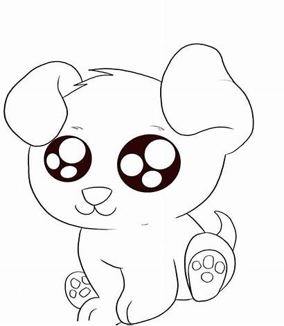 Coloring Pages Puppy Printable Getcolorings Cutest