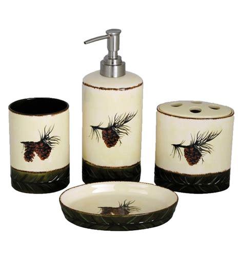 pinecone kitchen accessories pinecone kitchen decor pine cone bathroom set pine cone 1496
