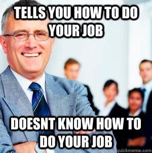 Bad Boss Meme - work red wing center