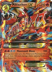 Mega Blaziken EX - XY86 - Oversized Promo - Pokemon Promo ...