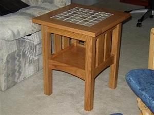Tile Top End Table DoItYourself com