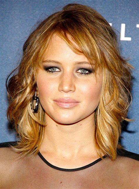 medium length curly hairstyles for faces