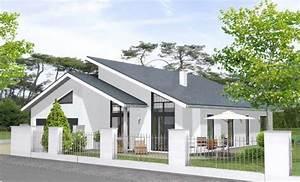 Garage Mit Pultdach : massivhaus bungalow mit garage ~ Michelbontemps.com Haus und Dekorationen