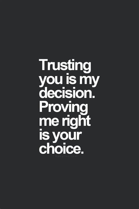 she trusted you quotes