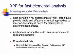 PPT - TYPICAL FIELD INSTRUMENTS FOR SOIL CONTAMINANTS ...