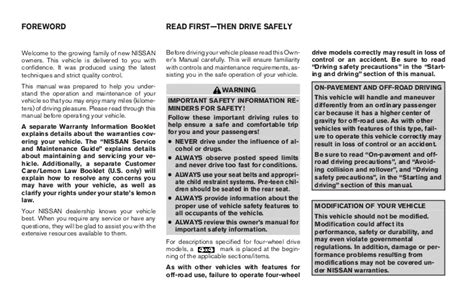 old car owners manuals 2005 nissan frontier free book repair manuals 2005 frontier owner s manual