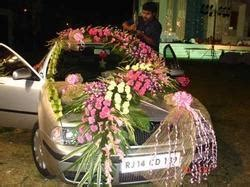 wedding car decoration  india