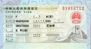 Chinese visa for visitors shall i apply for a q s or l for L visa documents