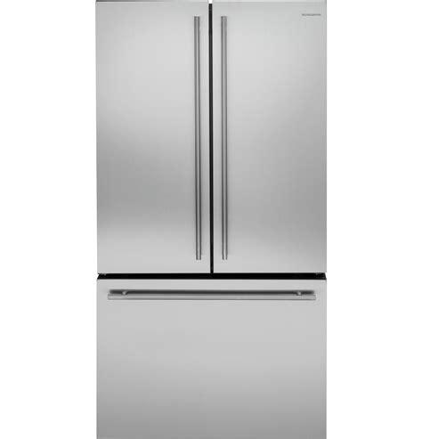 monogram energy star  cu ft counter depth french door refrigerator zweeshss ge