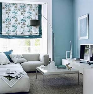 Wandfarbe Grau Blau : hellblau als ruhige wandfarbe w nde streichen in blau ~ Michelbontemps.com Haus und Dekorationen