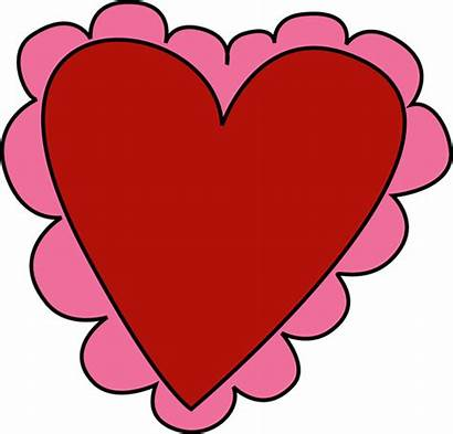 Clipart Pink Valentine Clip Heart Clipground Cliparts