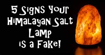 5 signs your himalayan salt l is a fake david