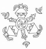 Rangoli Diwali Coloring Special Crackers Drawing Getdrawings Netart sketch template