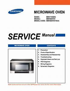 Samsung Smh9207st Sm Service Manual Download  Schematics