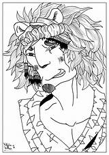 Coloring Pages Adult Lion Male Myths Adults Valentin Draw Legends Print Printable Getcolorings sketch template