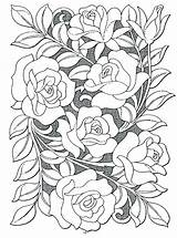 Hard Flowers Coloring Pages Coloring Home