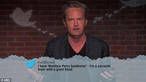 Matthew Perry, Sean Penn And Julianna Margulies Read 'mean