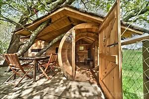une cabane dans les arbres en bretagne en voila 10 With awesome faire mesurer sa maison 4 construire une cabane