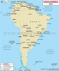South America, the fourth largest continent of the world ...