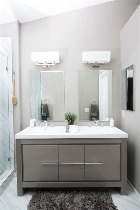 Bathroom Vanity Lights San Diego by San Diego Luxury Bathroom Vanities Contemporary With Gray