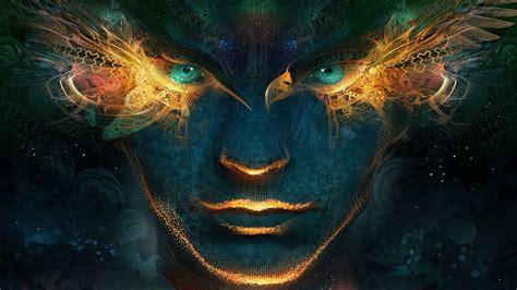 Artwork, Fantasy Art, Digital Art, Abstract, Men, Universe