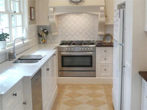 french country galley kitchen  hgtv