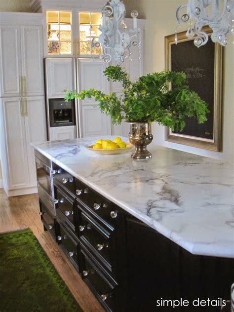 Laminate Countertops by Simple Details Formica Calacatta Marble Review
